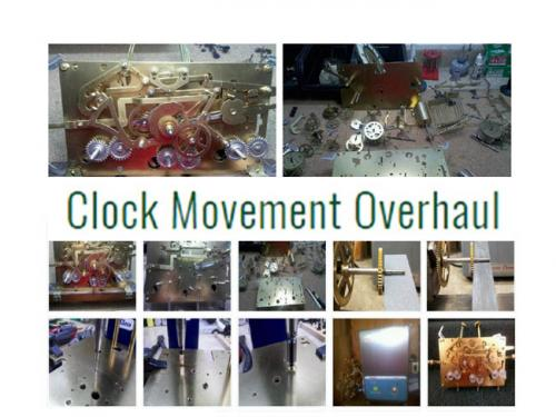Clock Movement Overhaul